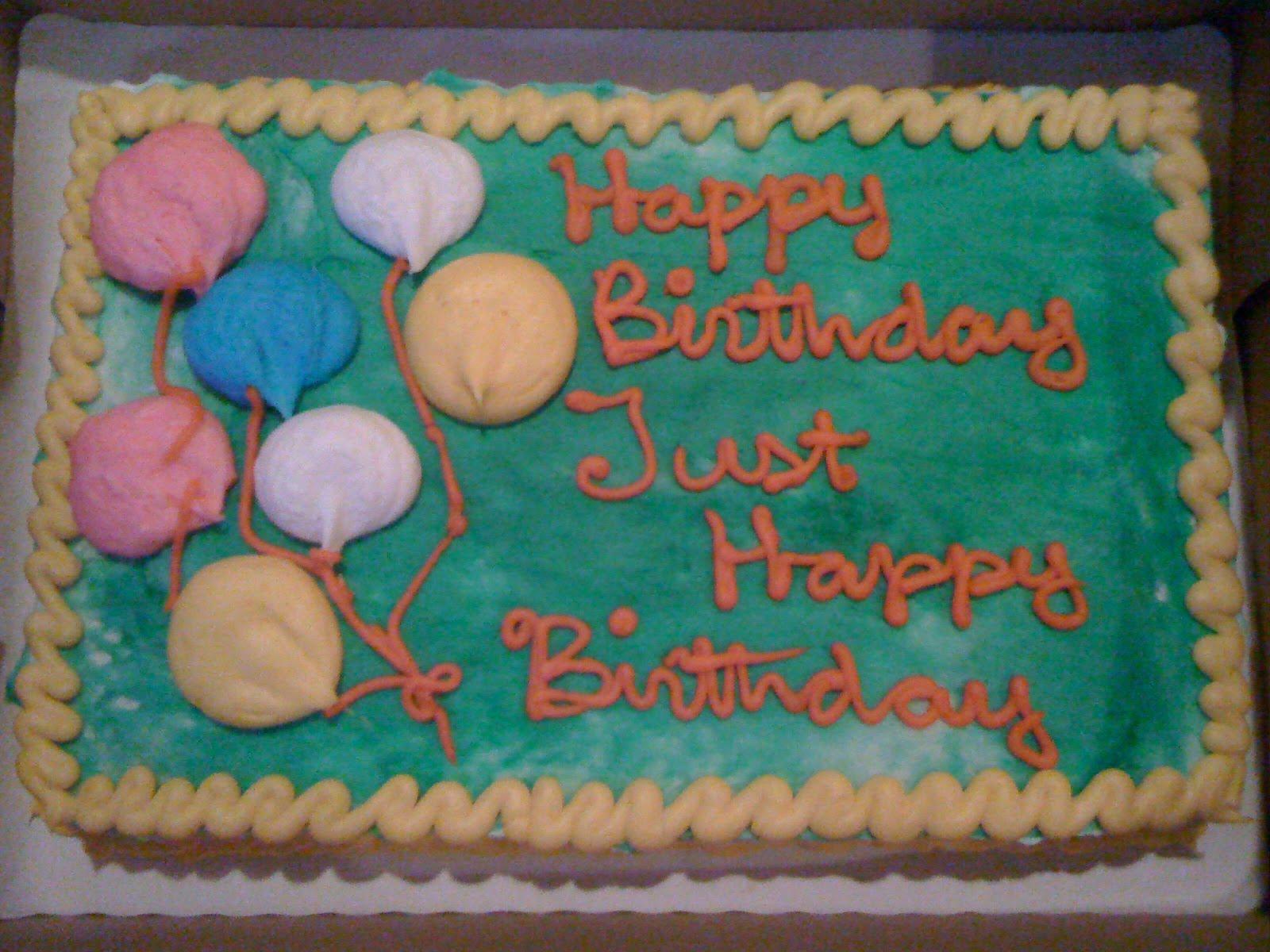 Walmart Decorated Cakes