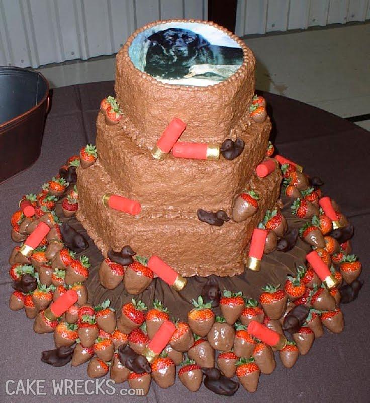 Turkey Hunting Cake Decorations : Cake Wrecks - Home - I m Hunting Wreck-Its
