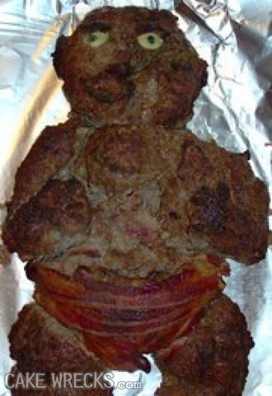 Meatloaf Baby Cake Wrecks