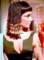 Elisabeth Taylor as Cleopatra
