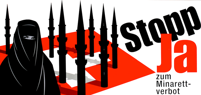 The poster that convinced Switzerland to ban minarets