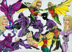 Stephanie Brown: Spoiler/Robin Costume History Copyright Kevenn T. Smith