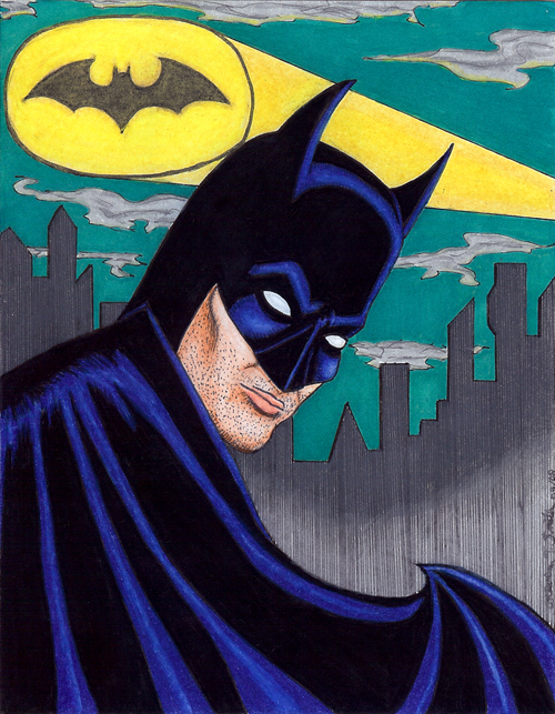 Batman Artcard ©Kevenn T. Smith 2009