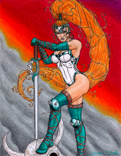 Artemis of Bana Mighdall by Kevenn T. Smith ©Kevenn T. Smith 2009