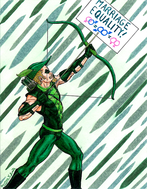Green Arrow by Kevenn T. Smith ©Kevenn T. Smith 2009