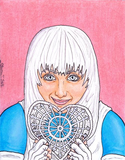Ice, Tora Olafsdotter, Valentine Portrait ©Kevenn T. Smith 2010