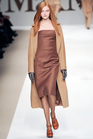Photo of Max Mara Fall 2009 RTW courtesy of Style.com