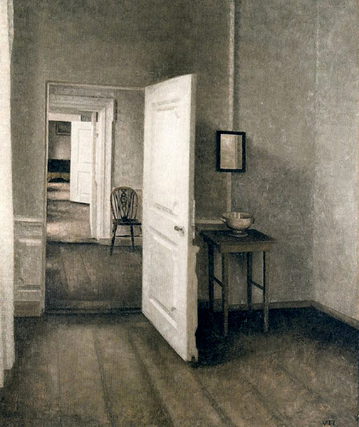 Hammershoi-enfiladee2 & Jennifer Carrasco - Sketchbook Journal - A Stone A Leaf An Unfound ...