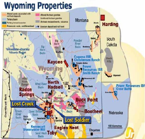 Ur-Energy Wyoming Projects