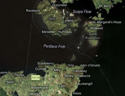 Pentland Map