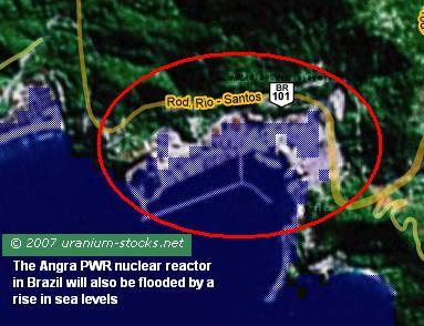 Angra Brazil Nuclear Power Plant
