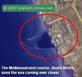 Melkbosstrand South Africa Nuclear Power Plant
