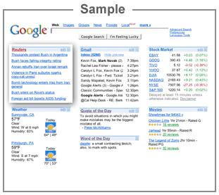 Google Sample
