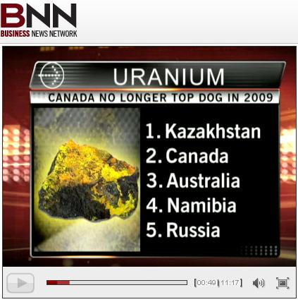 Uranium Chart of Countries 17 March 2010.JPG