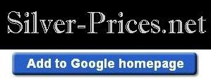 Add Silver Prices to your Google Homepage