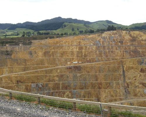 Waihi Gold Mine NZ