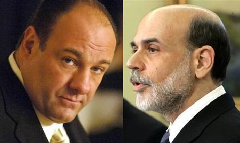 Ben Bernanke Tony Soprano