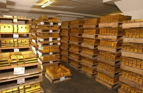 Gold in Vaults