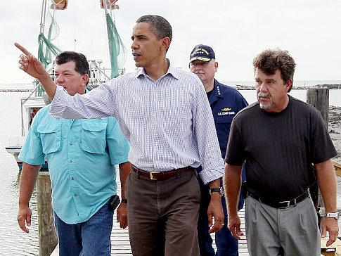 Obama and the Oil Spill 14 July 2010.jpg