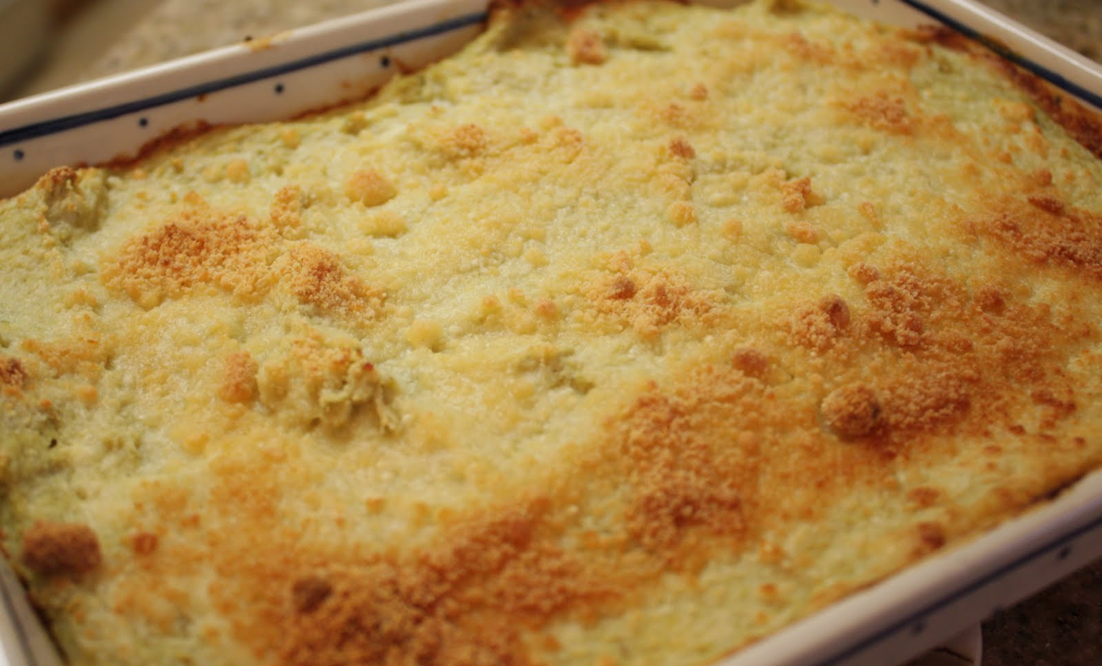 Baked Artichoke Dip - Home - Kiss My Whisk